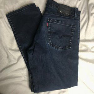 LEVIS 511 Dark Blue Wash Jeans 36x30